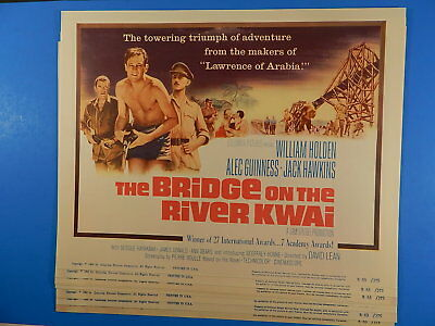 Bridge On The River Kwai 11X14  R63 Lobby Card Set Of 8 Lc