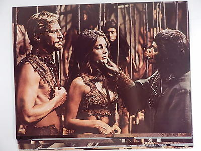 "11X14"" Beneath the Planet of the Apes 1970 US  Lobby Card Set NO STAPLE HOLES."