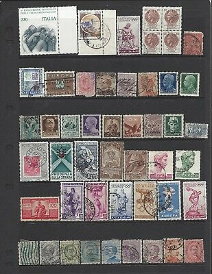 [481] 48 stamps from Italy