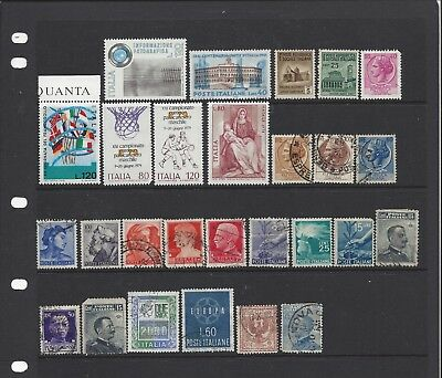 [482] 27 stamps from Italy
