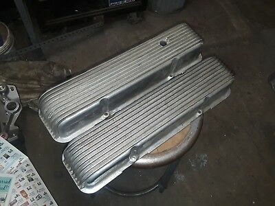 Vintage Cal Custom  Small block chevy valve covers