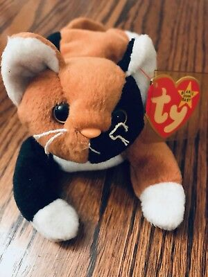 31d386a368e 1996 Ty Beanie Baby Chip the Cat Original Collectible