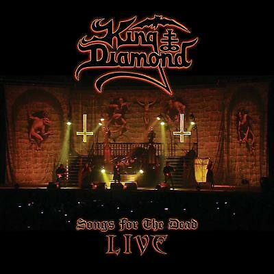 King Diamond Songs For The Dead Live CD plus 2 DVD set NEW FREE SHIPPING