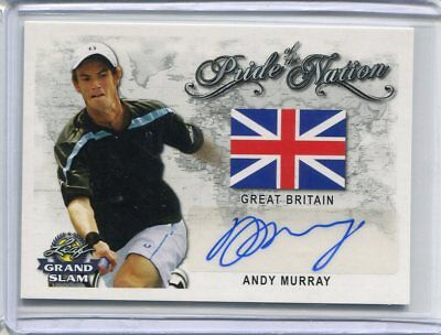 2018 Leaf Signature Series Andy Murray Pride of the Nation Auto Autograph
