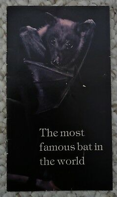 The Most Famous Bat in the World: Bacardi Rum Booklet 1984, by Merlin D. Tuttle