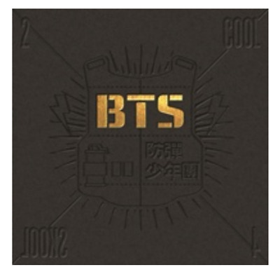 "K-POP BTS Mini Album "" 2 Cool 4 Skool "" Official - 1 Photobook + 1 CD"