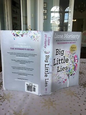 BIG LITTLE LIES, Liane Moriarty, SIGNED, 1st American Edition, First Printing
