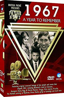 British Path� News - A Year To Remember 1967 [DVD] - DVD  OIVG The Cheap Fast