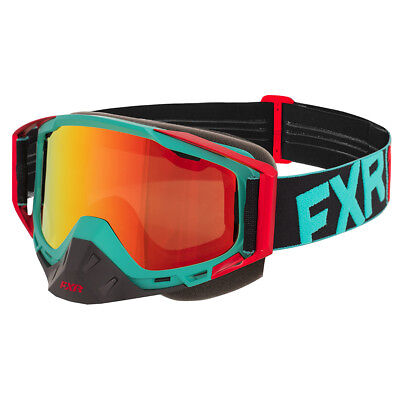 FXR Core Goggle - Mint/Red