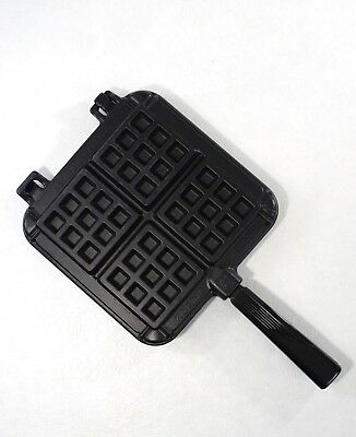 Nordic Ware Belgian Waffler Waffle Maker Stove Top Camping Non Stick Great Cond.