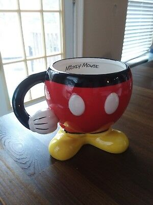 Disney Mickey Mouse Pant Figural Spoon Rest Ceramic