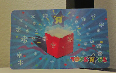 Toys R Us Gift Card Holiday Lenticular Motion Hologram Rare Collectible No Cash