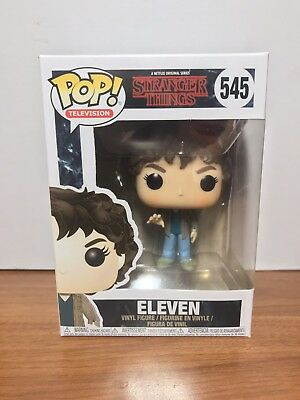 Funko Pop! Stranger Things Eleven #545 Vinyl Figure MINT