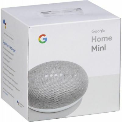 Google Home Mini Smart Assistant - Chalk, Brand New Sealed with Warranty - UK