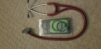 Used Littmann Master Cardiology Stethoscope - Red Color