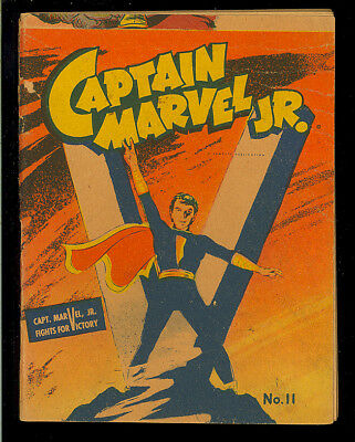 Captain Marvel Jr. Mighty Midget Comics #11 Nice Golden Age Fawcett 1942 VG