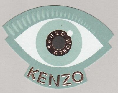 Carte publicitaire - advertising card - World  Kenzo
