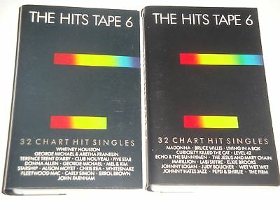 The Hits Tape Volume 6 - 2 x Cassette Tape Set HITSC6