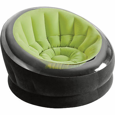 New Inflatable Couch Blow Up Sofa Gaming Seat Gray Double