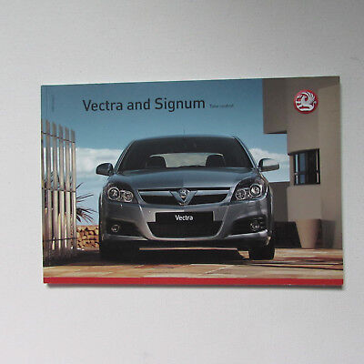 Vauxhall Vectra and Signum Brochure incl. Vectra VXR - 2007 Edition 2