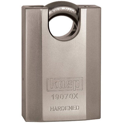 Kasp 190 Series High Security Padlock Closed Boron Alloy Shackle 70mm Standard