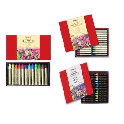 Mungyo Extra Soft Water Soluble Oil Pastels Set of 12 / 24
