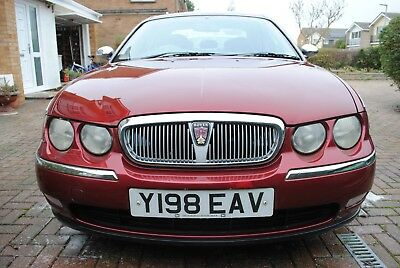 Rover 75 club auto leather seats 2001