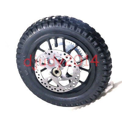 Rear Wheel With Tyre 12.5X2.75 Sprocket Disc Rotor Brake For Apollo Dirt Bike