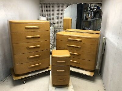 Vintage Heywood Wakefield Niagara Bedroom 3 Piece Set