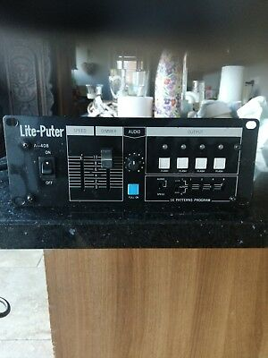 Lite-Puter A-408 Four Channel Disco Lighting Controller