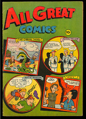 All Great Comics #1 Nice One-Shot First Issue Golden Age Fox Comic 1946 VG-FN