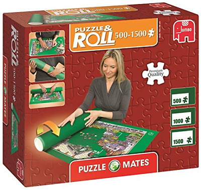 Jumbo 17691 Puzzlematte Puzzle Mates and Roll bis 3000 Teile