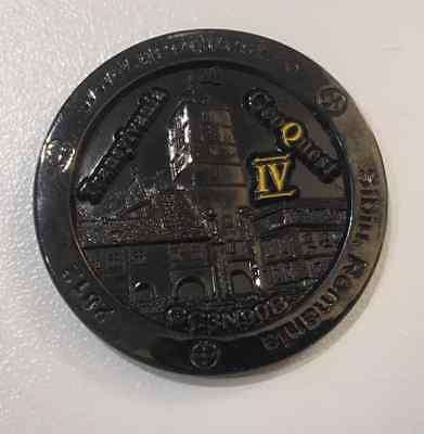 TRANSYLVANIA GEOQUEST  geocoin - NOT ACTIVATED - mint condition