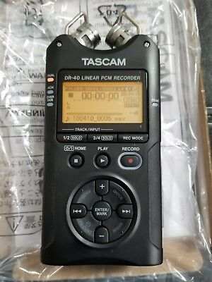 Tascam Dr-40 Digital Audio High Quality Linear Pcm Lossless Recorder Version 2