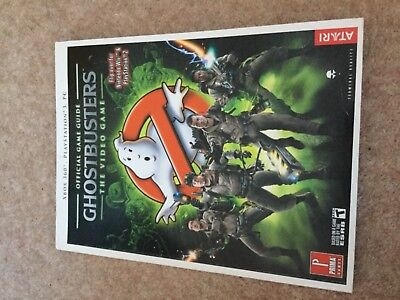 Official Game Guide to Ghostbusters Video Game PS3, PC, Xbox 360, PS2 & Nintendo