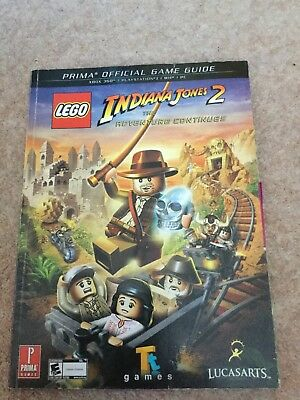 Lego Indiana Jones 2: The Adventure Continues - Official Game Guide