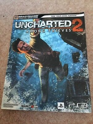 Uncharted 2 Among Thieves Bradygames Strategy Guide for PS3