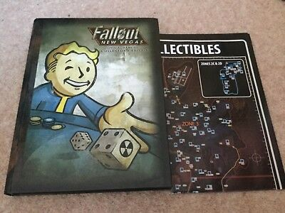 Fallout New Vegas Collectors Edition Official Game Guide - Hardback with Map