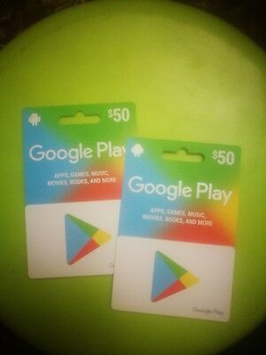 Google Play Gift Code $50 - Email Delivery - Activated and Ready to Use