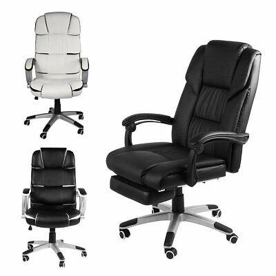 Office Chair with High Back Large Seat  Executive Swivel Computer Gaming Chair A