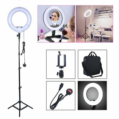 "14"" 5500K 40w LED Studio Ring Light Photo Video Lamp Light Kit For Camera/Phone"