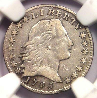 1795 Flowing Hair Half Dime H10C - NGC VF Detail - Rare Certified Coin!