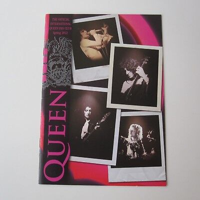 QUEEN : Official Queen Fan Club Magazine Spring 2012 Issue