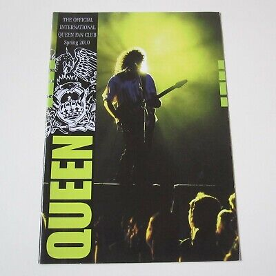 QUEEN : Official Queen Fan Club Magazine Spring 2010 Issue