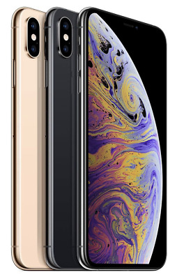 Apple iPhone XS MAX 64GB 256GB 512GB - SPACE GRAU SILBER GOLD - w. NEU
