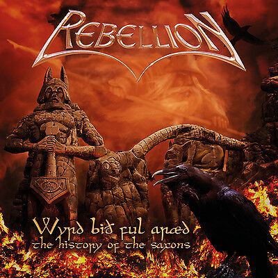 REBELLION - Wyrd Bid Ful Araed-The History Of The Saxons - CD - 200891