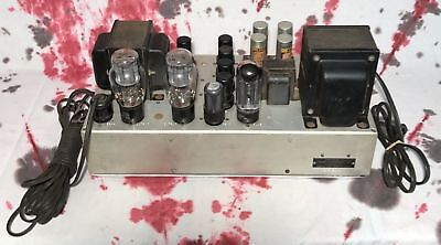 BROOK 10C Tube Amplifier   Western Electric Fairchild 620 300B 2A3   Tested 10C3
