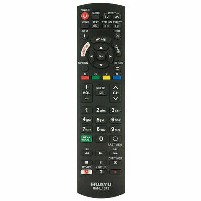 Panasonic Replacement Remote Control for N2qayb000830/Tc32a400/Th65phd8uk Remote