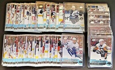 2016-17 Upper Deck Young Guns Series 1 & 2 + Update U-Pick Finish Your Set