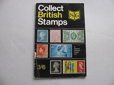 Stamp catalogue with valuations 1967 ' Collect British Stamps' Collectors item.